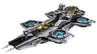 The Lego SHIELD Helicarrier is real and a
