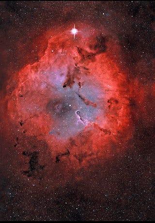 Amazing Astronomy + Animated GIF = Stunning 3D Nebula