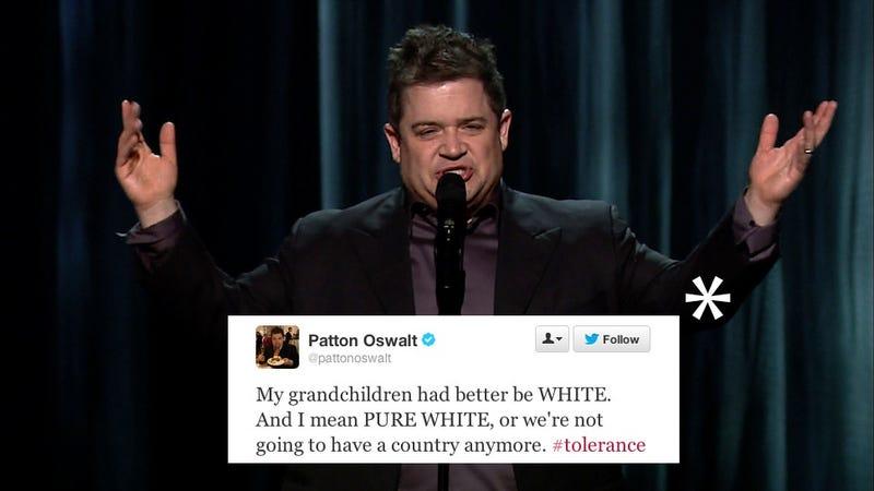 Patton Oswalt Trolls The World, Wins Twitter