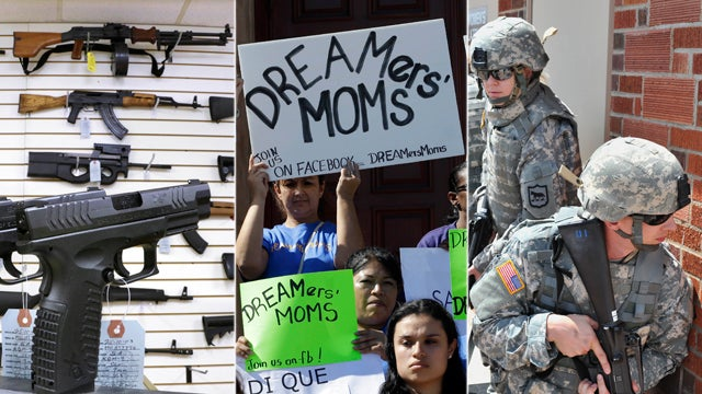 A New Poll Measures How Americans Feel About Gun Control, Women in Combat