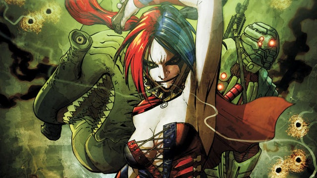 DC Relaunch Snap Judgments, Week 2: The Joker In Lingerie And Alien Cats Vomiting Blood