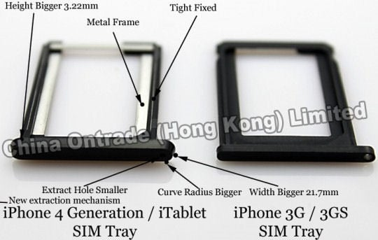 Rumor: Is This the Apple Tablet's SIM Card Tray