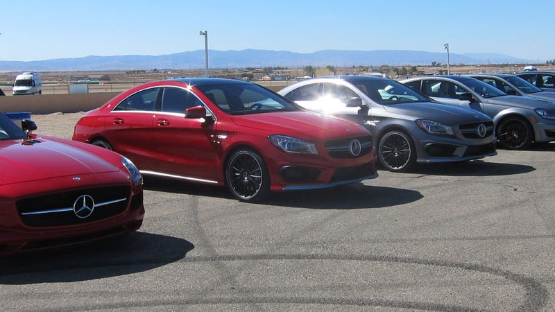 The Mercedes-Benz CLA45 AMG Is An Impressive Engine With A Melty Ass