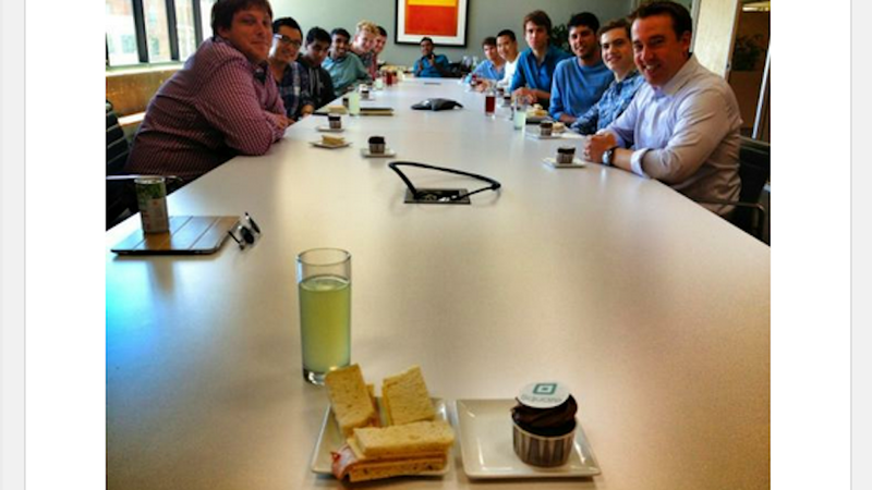 Twitter Founder Serves All Male Intern Staff Sandwiches With the Crusts Cut Off