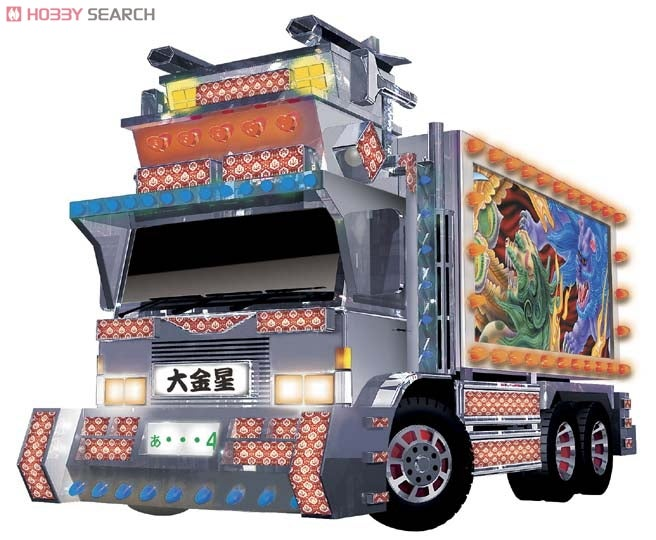 Dive Right Into 1:32 Scale Model Dekotora Hell!