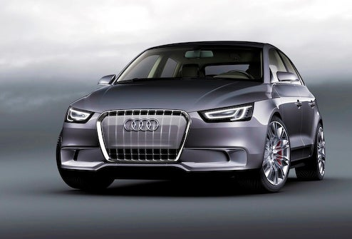 Audi A1 Sportback Concept Officially Powered By 1.4-Liter TSI Hybrid