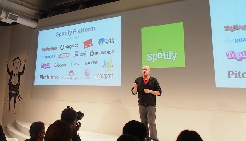 Like Facebook, Spotify Now Has Its Own Apps