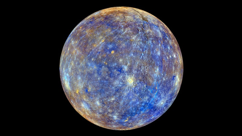 NASA unveils image of Mercury unlike any you've ever seen