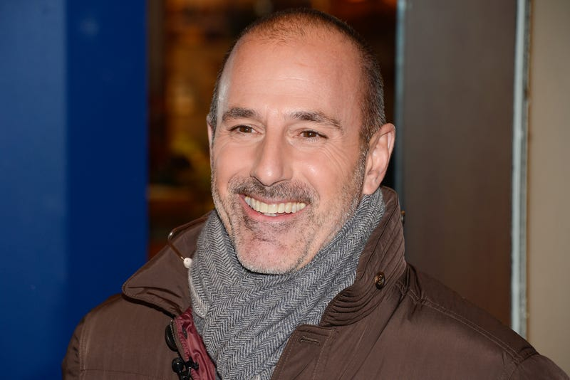 Matt Lauer Reportedly Caught With a 'Smoking Hot Blonde'