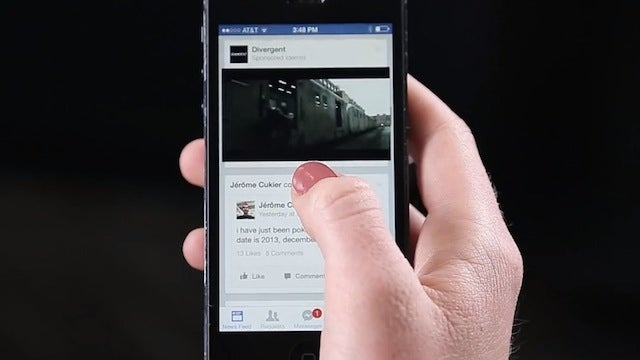 Facebook Now Includes Auto-Play Video Ads for Everyone