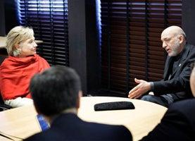 Hillary Clinton Meets Karzai, Ignores His New Pro-Rape Initiative