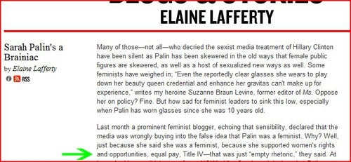 As Far As I'm Concerned, Former Ms. Editor Elaine Lafferty Can Go F-ck Herself