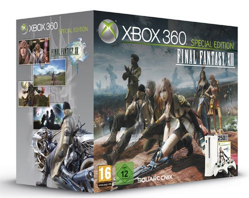 Europe Gets Two Final Fantasy XIII Xbox Bundles