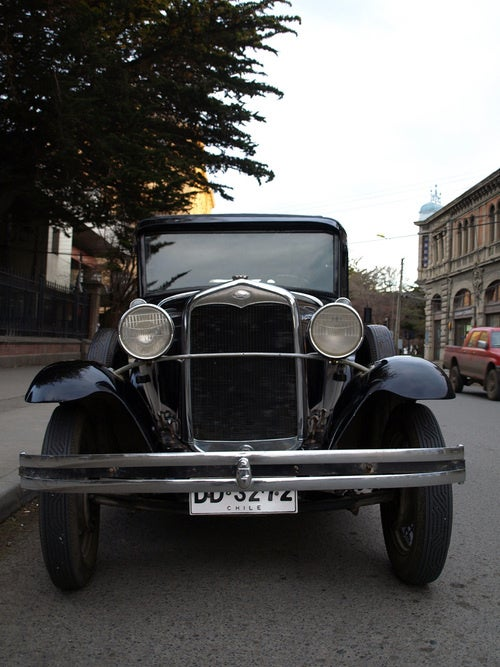 1931 Ford Model A Down On The Chilean Street