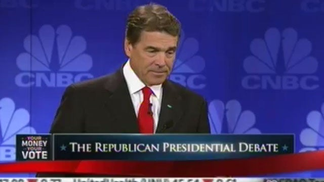 Rick Perry: 'I Stepped In It'