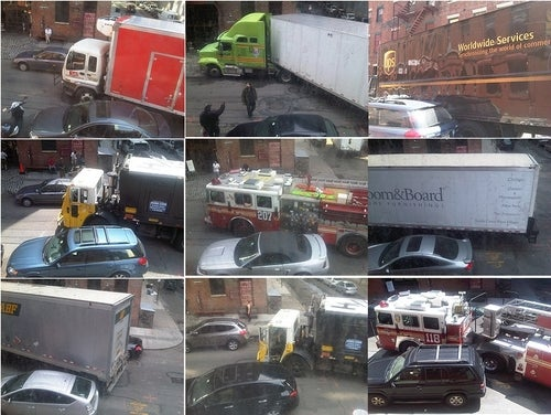 DUMBO Truck Drivers Can't Make Corner