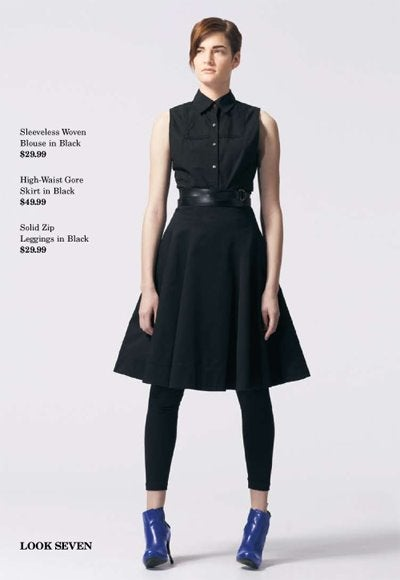 Alexander McQueen Rocks Target With Leather And Poodle Skirts