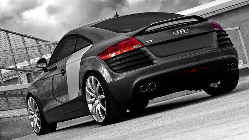 An Audi TT with sideblades still isn't an R8