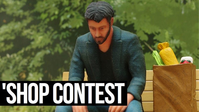 Kotaku 'Shop Contest: The Sad Keanu Figure