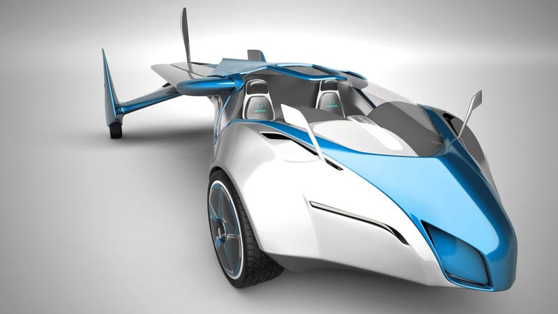 Finally, a functional flying car that actually looks pretty cool