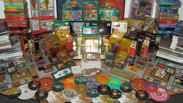 Have You Ever Seen This Many Zelda Games at Once?