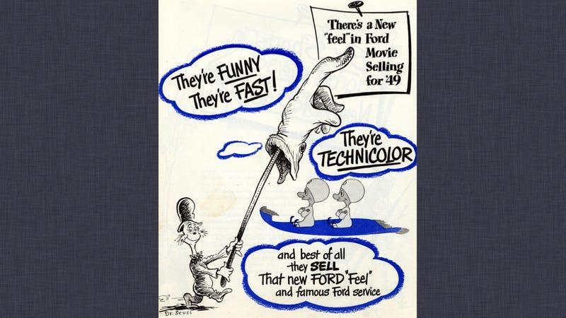 Dr. Seuss Ads: Pictures
