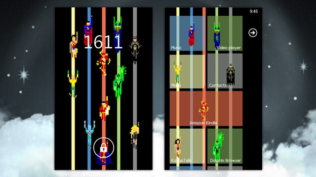 The Tiled Justice League Home Screen