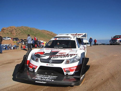 Monster Tajima Wins Another Pikes Peak Hill Climb