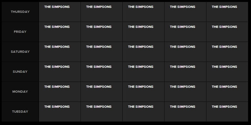 Watch Every Single Episode Of The Simpsons, In A Row