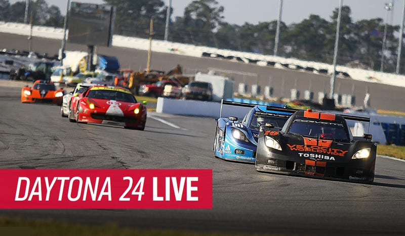 Your Rolex 24 Hours Of Daytona Live Blog