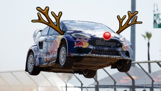 Merry Christmas from Red Bull GRC! Hey Santa, you can give the reindeer a break this year—w