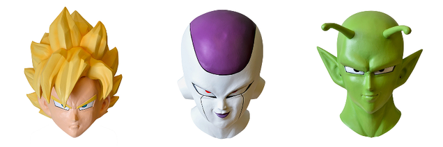 Made in Japan High Quality Costume Mask Dragon Ball Z Freeza