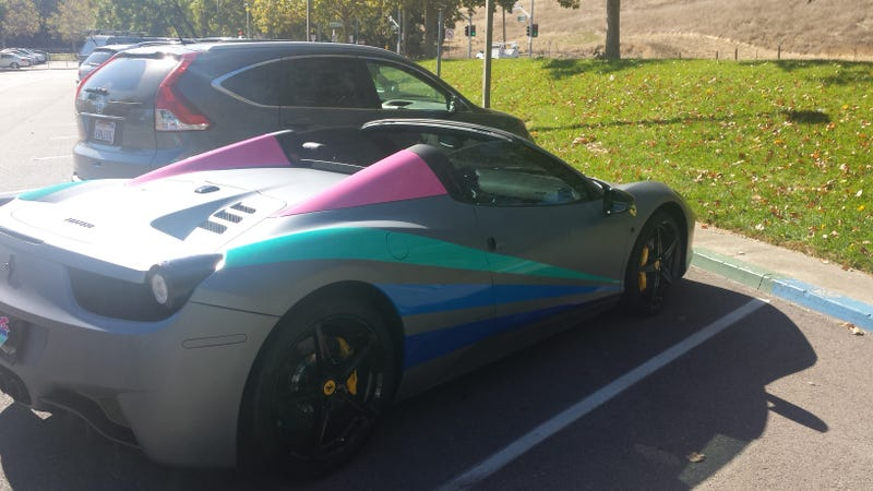 This Has To Be The Worst Ferrari 458 Italia Paint Job Ever