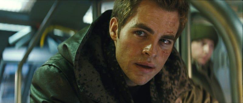 Chris Pine Isn't The Only Starfleet Officer Who Gets His Purty Face All Mangled
