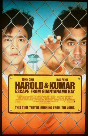 Harold & Kumar Get Bongwaterboarded!