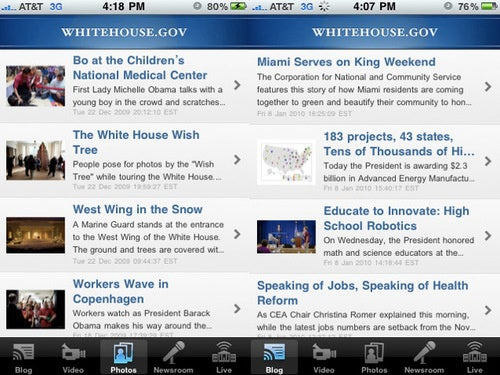 Watch That Other Keynote Next Wednesday on Your iPhone With White House App