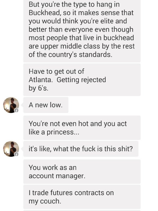 Finance Douche Throws Pee-Pants Tantrum After Being Rejected on Tinder
