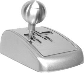 Silver Stick Shift FM Radio Player