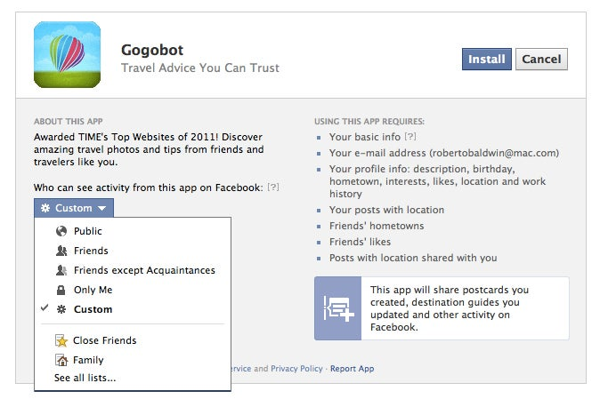 Manage the Onslaught of Open Graph Facebook Apps