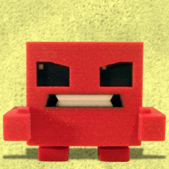 The First Four Super Meat Boy Figurines Have Arrived