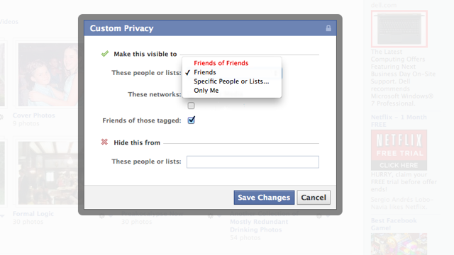 "Sharing with ""Friends of Friends"" on Facebook Exposes You to 150,000 People"