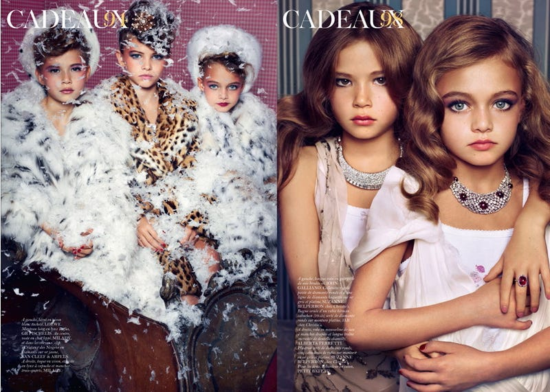 French Vogue's Sexy Kiddie Spread Is Misunderstood