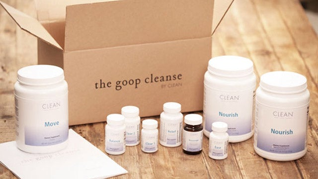 Gwyneth Paltrow Now Sells GOOP Colon Cleanses