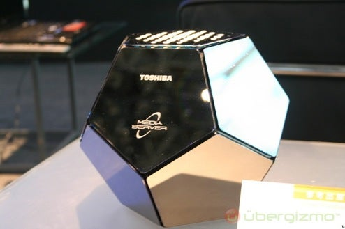 Toshiba Media Server is a Wireless Powerhouse, Dodecahedron