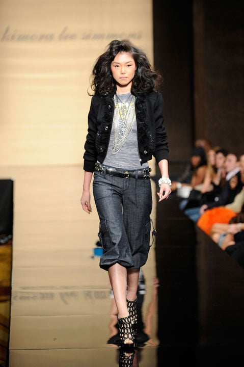 Baby Phat Fall 2009: Don't Worry, Be Happy