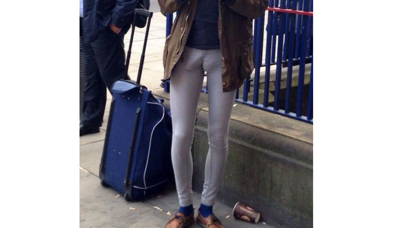 Photographic Evidence of Why Men Should Never Wear Jeggings
