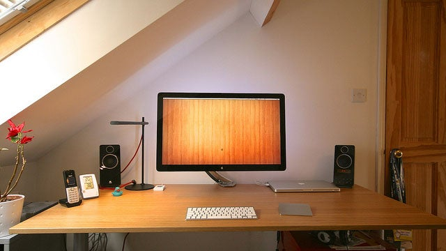The Clean and Composed Wooden Workspace