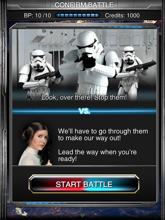 This Is Probably Not The Star Wars Game You Were Looking For