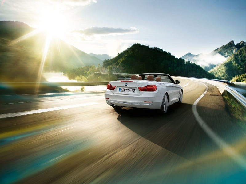 The New BMW 4 Series Convertible