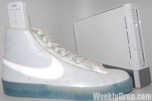Nike's Nintendo Shoe Blitz Continues With Wii Blazers